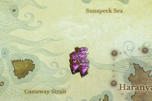 Location of Seawise Queen