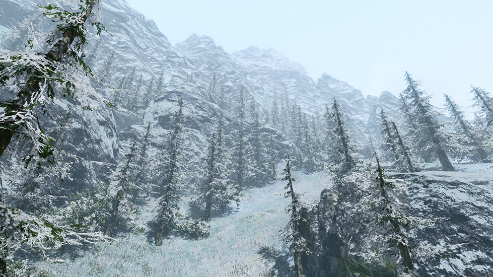 Western Hiram Mountains
